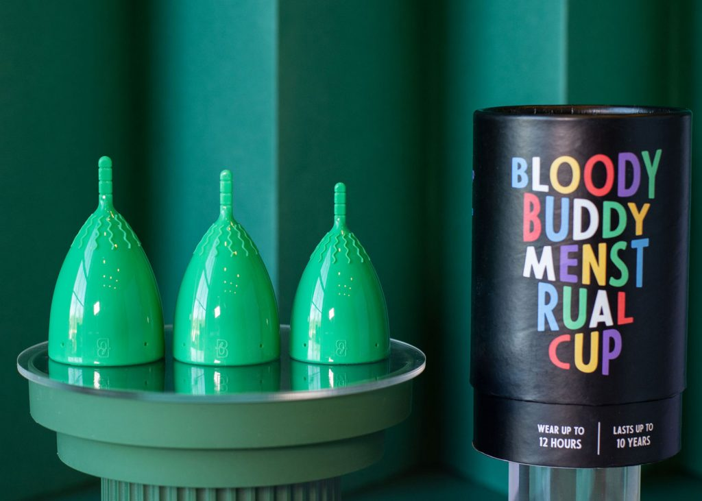 Bloody Buddy menstrual cup and packaging review