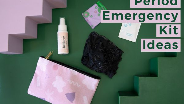 period emergency kit for cup users